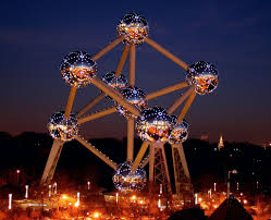 Image result for brussels belgium at night