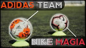 Сравнение : <b>Мяч</b> Nike MAGIA vs <b>Adidas TEAM</b> | Тест <b>футбольных</b> ...