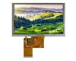 <b>5</b> inch <b>Resistive Touch Screen</b> TFT <b>LCD Display</b>