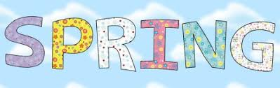 Image result for spring lettering