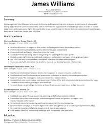 s manager resume sample resumelift com