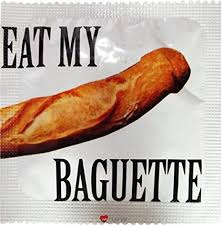 I LUV LTD Eat My Baguette Novelty Condom: Home ... - Amazon.com