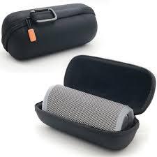 Fashion <b>Portable Hard Shell Protective</b> Speaker Storage Bag Case ...