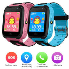 kids <b>Smart Watch</b> Accurate Tracker SOS <b>Anti</b>-<b>Lost</b> children Touch ...