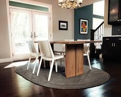 jute dining room  gray jute rug dining room