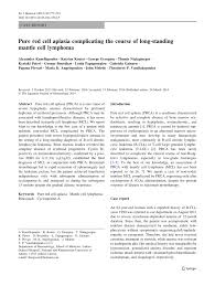 (PDF) <b>Pure</b> red cell aplasia complicating the course of long-standing ...