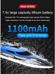 25KM/H <b>2.4G Remote Control High</b>-<b>speed RC</b> Boat <b>RC</b> Racing ...