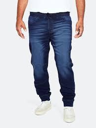 Dark blue XL Georgia <b>Denim Sweat</b> Pants | Men | Trousers - <b>Sweat</b> ...