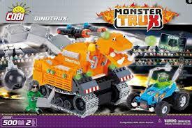Монстр-трак <b>Dino</b> Trux. <b>COBI</b> 20058.