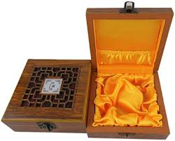 ieasycan <b>Vintage Wooden</b> Box with Hand Carved <b>Floral</b> Patterns ...