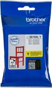 <b>Картридж</b> струйный <b>Brother LC3619XLY</b> желтый (1500стр.) для ...