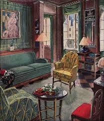 1929 modern living room by karpen by american vintage home via flickr antique style living room furniture