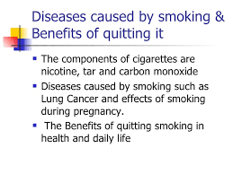 persuasive speech slices   diseases caused by smoking  amp benefits of quitting