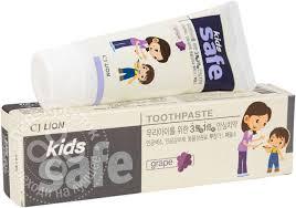 Отзывы о <b>Зубной пасте</b> CJ <b>Lion</b> Safe <b>Kids</b> со вкусом винограда ...