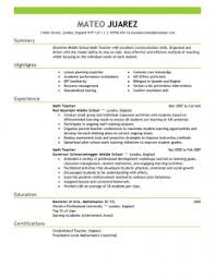 teaching resume examples   best resume templateteacher resume and cover letter examples