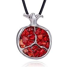 <b>Natural Red Garnet</b> Gem stone <b>Ring</b> for Women Pomegranate ...