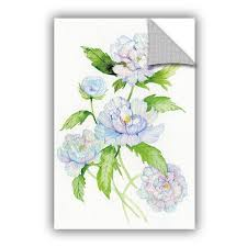 August Grove McGreaham Floral <b>Delight</b> II <b>Removable</b> Wall Decal ...