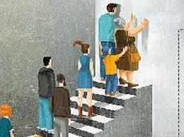 Risultati immagini per ascensore sociale bloccato