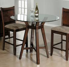 small square kitchen table: image of round small glass cool small kitchen table