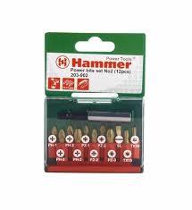 <b>Набор бит Hammer 203-902</b> PB set No2 Ph/Pz/SI/Тх 12шт - купить ...