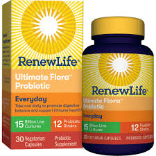Renew Life <b>Everyday</b> Adult <b>Probiotic</b> Capsules, 15 Billion, 30 Ct ...