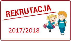 Znalezione obrazy dla zapytania rekrutacja 2017/2018