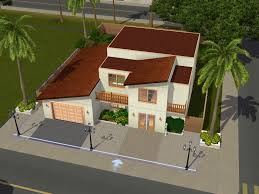 Family Homes  up to       for Sims at My Sim Realty    office and open floor plan  The upstairs has large bedrooms and a full bath  The yard is fully fenced  It is furnished for sims   double beds