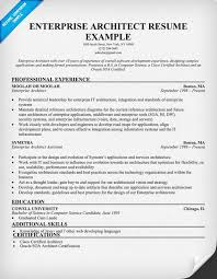 Enterprise Architect Resume (resumecompanion.com) | Resume Samples ...