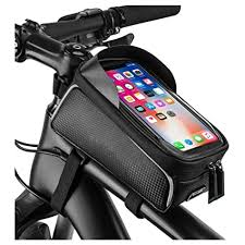 Buy ZUYOKI <b>Bicycle</b> Top Tube <b>Phone Bag</b>, <b>Bike</b> Frame <b>Bag</b> Water ...