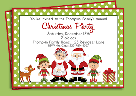 printable christmas party invitations for children printable christmas party invitations for children