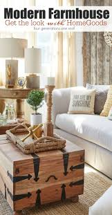 rustic style living room clever: modern farmhouse living room get the look homegoods behind the scenes photo shoot