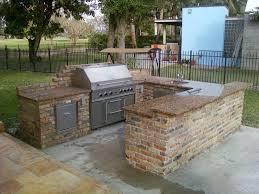 Countertop For Outdoor Kitchen Download Outdoor Island Bar Garden Design