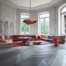 6 bohemian living room roche bobois mah jong modular sofa bohemian living room furniture