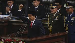 naskah pidato pelantikan Jokowi