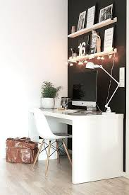 view in gallery black and white home office idea with nordic style black and white home office