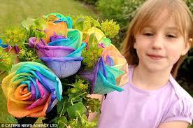 ... Foto Rainbow Rose, Bunga Spektakuler !!! toko bunga online terjual sedikit Quote persahabatan - article-1282879-09D46E3F000005DC-453_634x4213