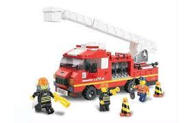 <b>Конструктор Sluban</b> BOX <b>Пожарные спасатели</b> M38-B0221R (270 ...