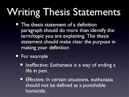 definition essaysexamples    writing thesis statements