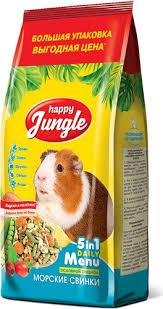 88 отзывов на Корм сухой <b>Happy Jungle для</b> морских свинок, 900 ...
