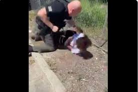 Police department defends grown man beating 14-year-old over ...