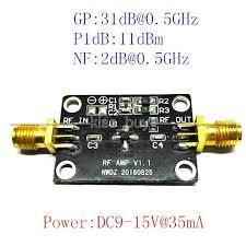<b>Freeshipping</b> DC 12V 10K-1G LNA low noise broadband <b>RF</b> ...