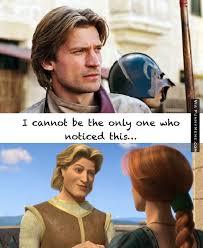 Funny memes - Jaime Lannister = Prince Charming | FunnyMeme.com via Relatably.com