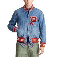 <b>Блузон</b> тедди <b>джинсовый</b> varsity голубой Polo Ralph Lauren | <b>La</b> ...