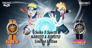 Seiko 5 Sports <b>NARUTO</b> & BORUTO Limited Edition | Seiko Watch ...