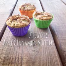 21 Day Fix Approved Apple Cinnamon Muffins Ingredients: 2 large ...