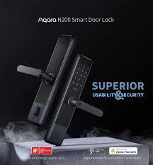 New <b>Aqara N200 Smart</b> Door Lock Fingerprint Bluetooth Password ...