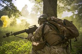 u s department of defense > photos > photo gallery a marine provides cover during a field training exercise for military police at fort leonard wood