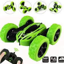 WEECOC RC Cars Stunt Car Remote Control Vehicle <b>Double Sided</b> ...