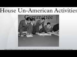 「the House Un-American Activities Committee」の画像検索結果