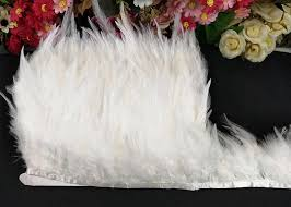 <b>wholesale</b> price <b>10 meters</b>/lot 10 15cm white rooster feathers trim ...